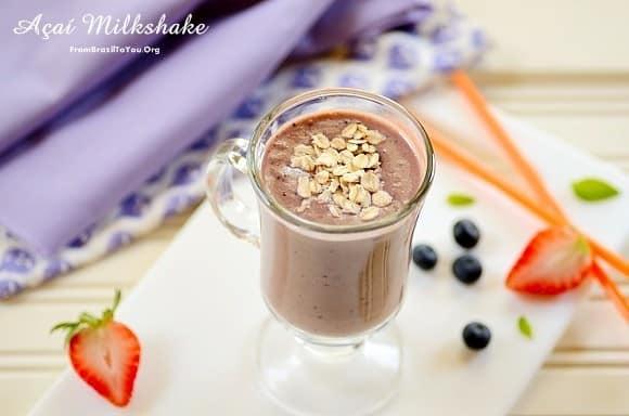 açaí-milkshake