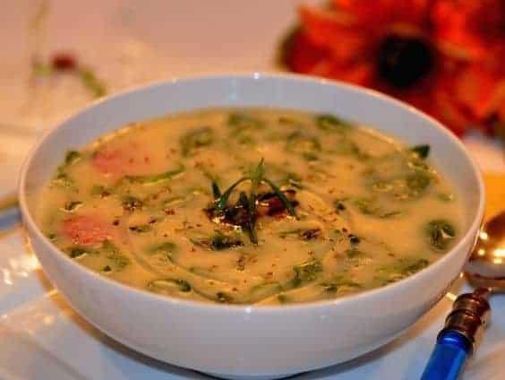 Portuguese-kale-soup, Caldo-verde