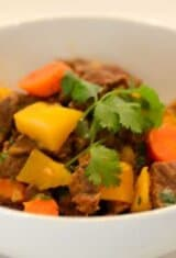 Brazilian Beef Stew with Vegetables (Picadinho de Carne)