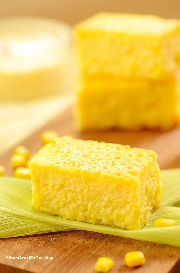 Brazilian Sweet Corn Cake Recipe