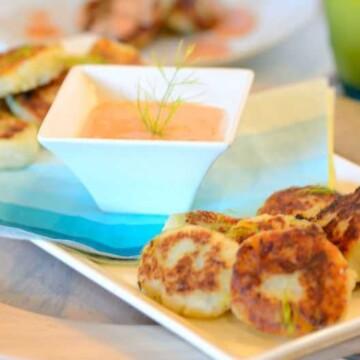 Pan-fried-potato-patties, Bolinho-batata