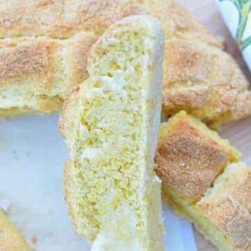 Portuguese-corn-bread, Broa-milho