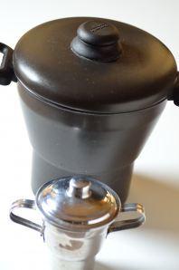 Brazilian couscous pot in 2 sizes to make cuscuz de milho
