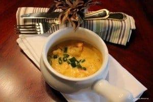 A bowl of bobo de camarao