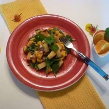 Tropical-fresh-salad