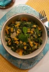 Spinach-in-coconut-milk, Bredo-no-coco