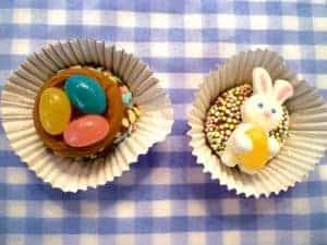 brigadeiros decorated for Easter