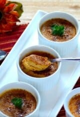 Easy Roasted Sweet Potato Creme Brulee
