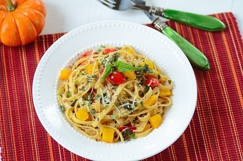 Fettuccini Aglio e Olio with a Twist
