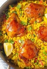 Galinhada (Brazilian Saffron Rice with Chicken)