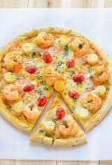 Shrimp Pizza Recipe on a Budget