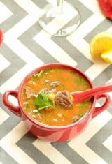 Lentil and Beef Soup and Tips on How to Cook Lentils