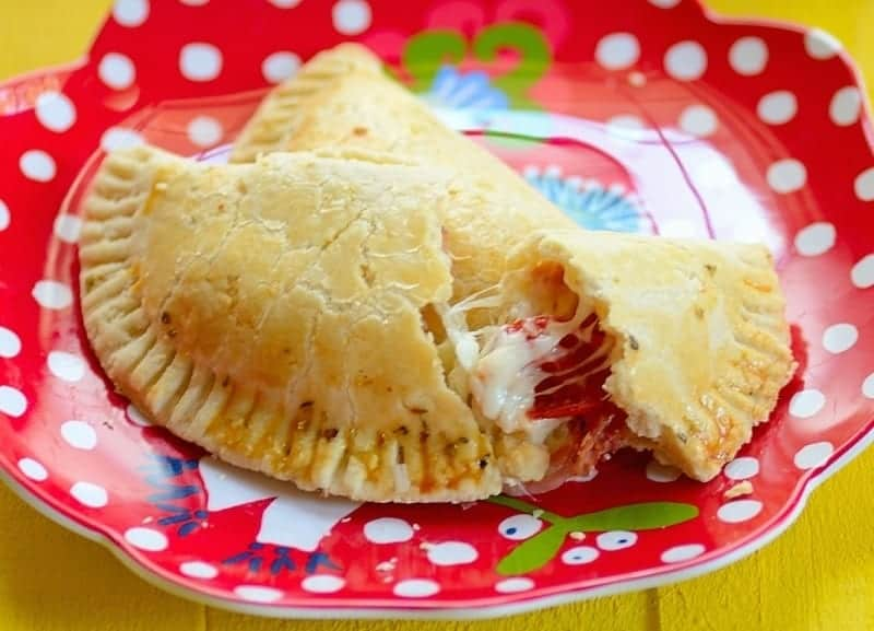 Pizza Empanadas -- Two dishes in one! Got yours?
