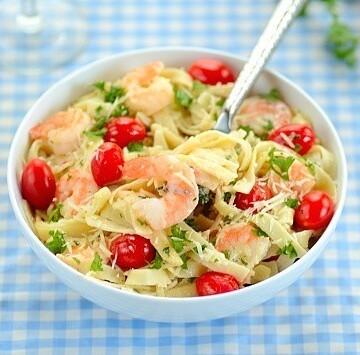Sea-and-garden-pasta