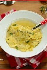 Ravioli Soup (Sopa de Ravióli)