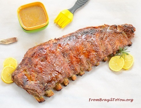 Brazilian-style pork ribs