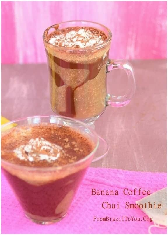 Banana Coffee Chai Smoothie - From Brazil To You