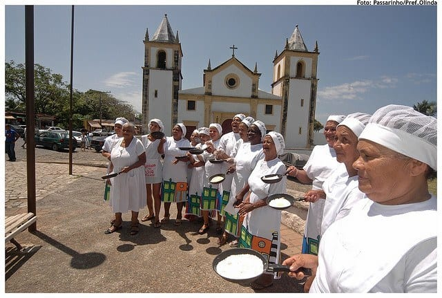 Tapioqueiras do Alto da Sé em Olinda em Olinda
