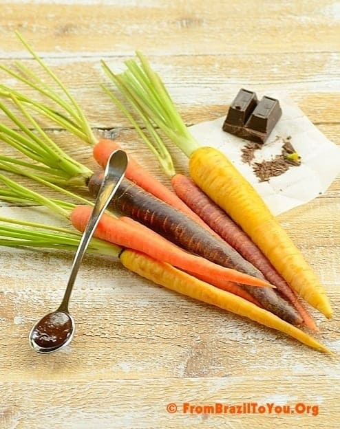 Carrots and Chocolate to prepare carrot cake