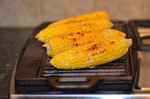 Getting grilling marks...