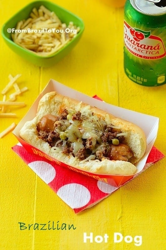 Brazilian Hot Dog -- Absolutely Superb!!!