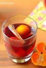 Quentão de Vinho (Brazilian Mulled Wine)