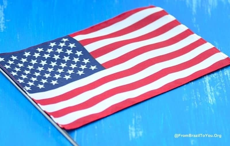 The Beautiful American Flag