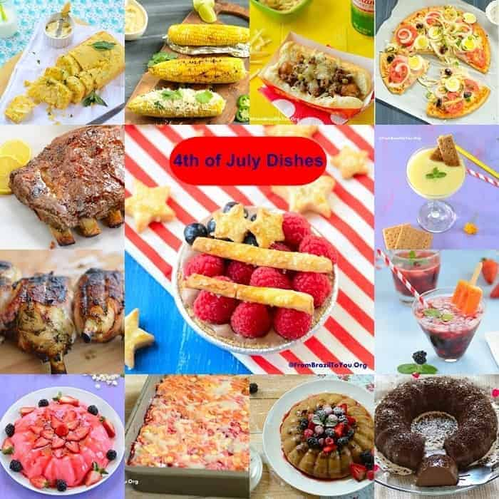 4th of July Dishes Recipes