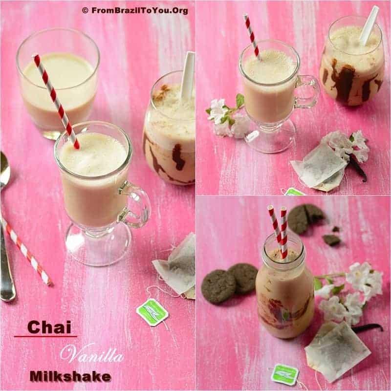 Chai Vanilla Milkshake -- The taste of paradise!!!!