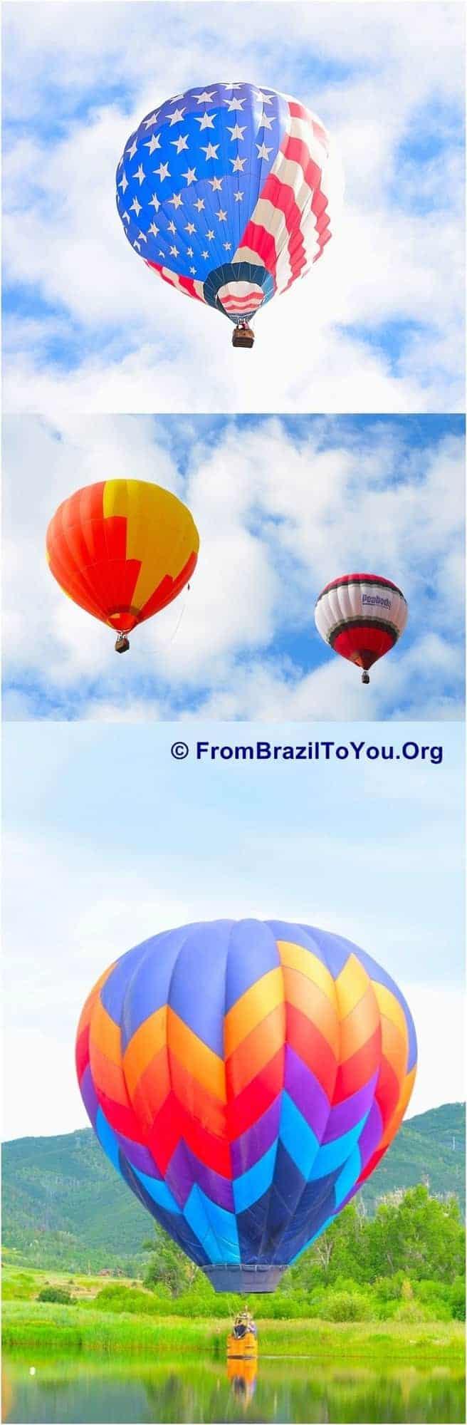 Hot Air Ballon Festival in Steam Boat Springs, Colorado.
