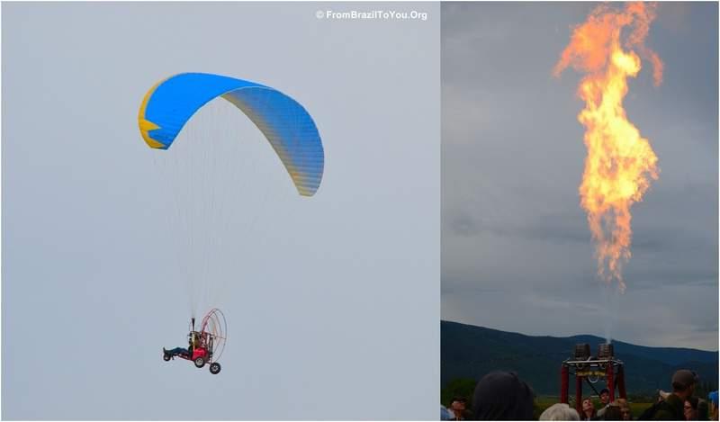Hot Air Ballon Festival in Steam Boat Springs, Colorado