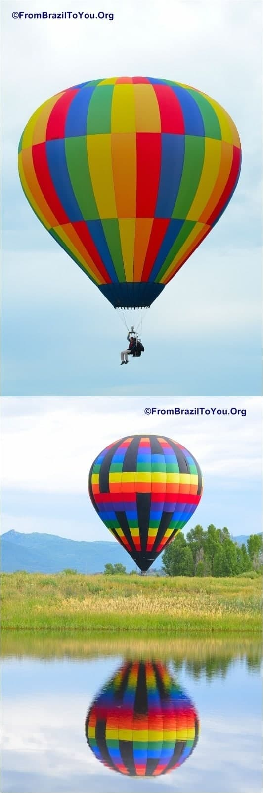 Hot Air Balloon Festival in Steamboat Springs, Colorado by FromBrazilToYou.Org