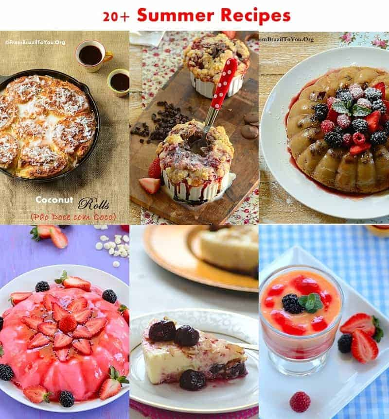 20+ Summer Recipes