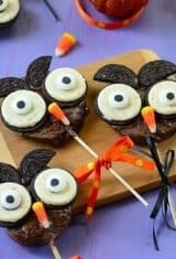 Cute Chocolate-Apple Halloween Owl