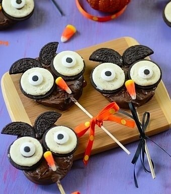 Chocolate-Apple-Halloween-Owl
