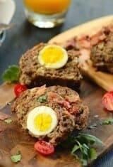 Egg Stuffed Meatloaf (Bolo de Carne Alemão)