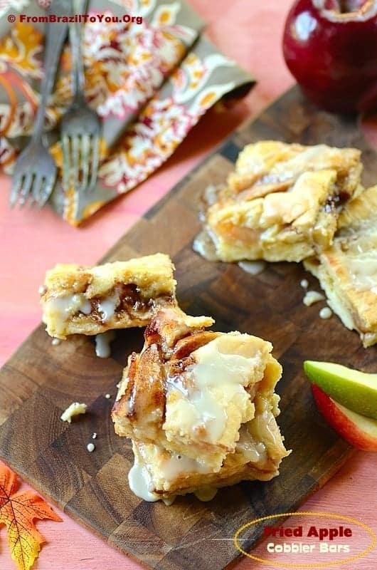 Fried-Apple Cobbler Bars