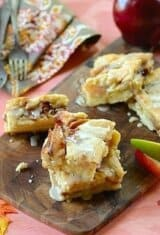 Fried-Apple Cobbler Bars