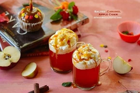 Quick Salted Caramel Apple Cider...The Ultimate Fall Drink!