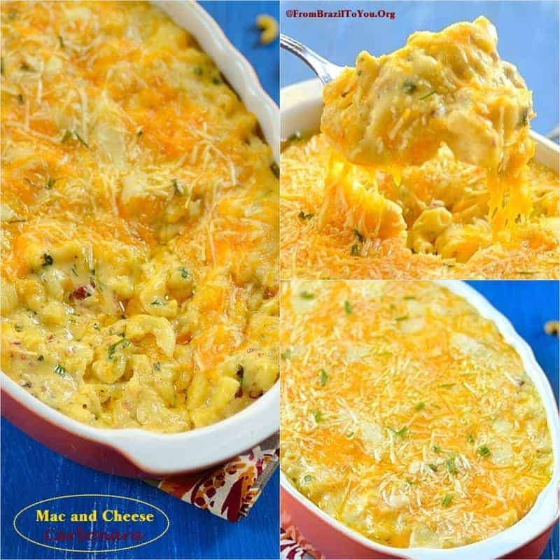 Mac and Cheese Carbonara - From Brazil To You