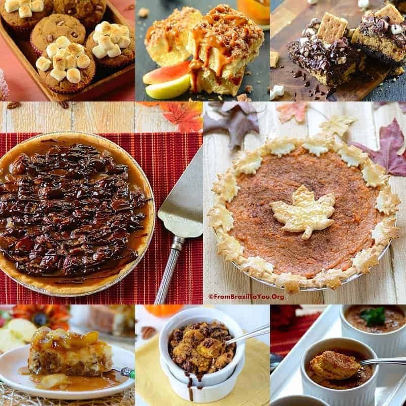 35 Thanksgiving Recipes -- Desserts