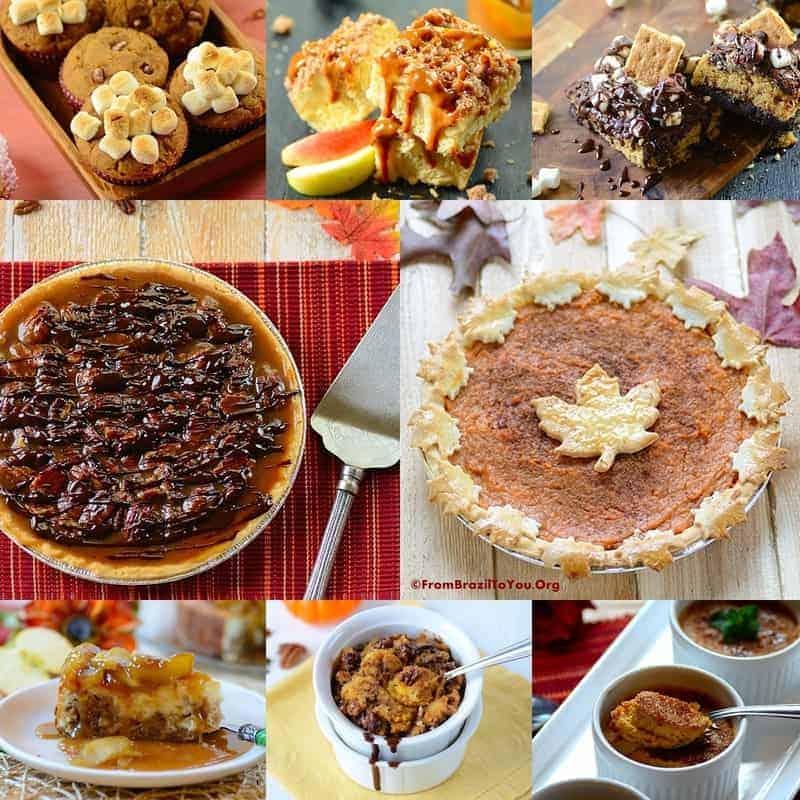 35 Thanksgiving Recipes -- Desserts
