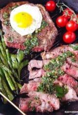 Bife à Cavalo (Steak and Eggs Recipe)