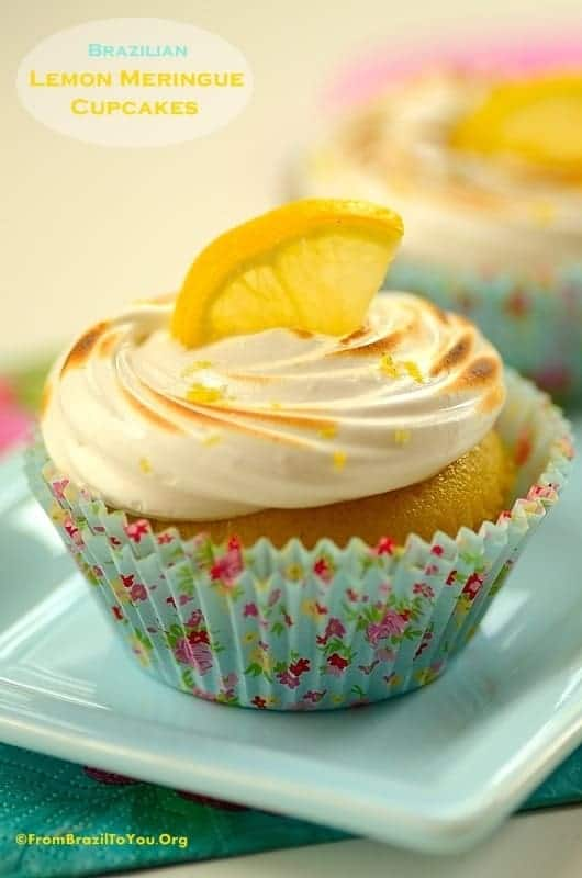 Brazilian Lemon Meringue Cupcakes
