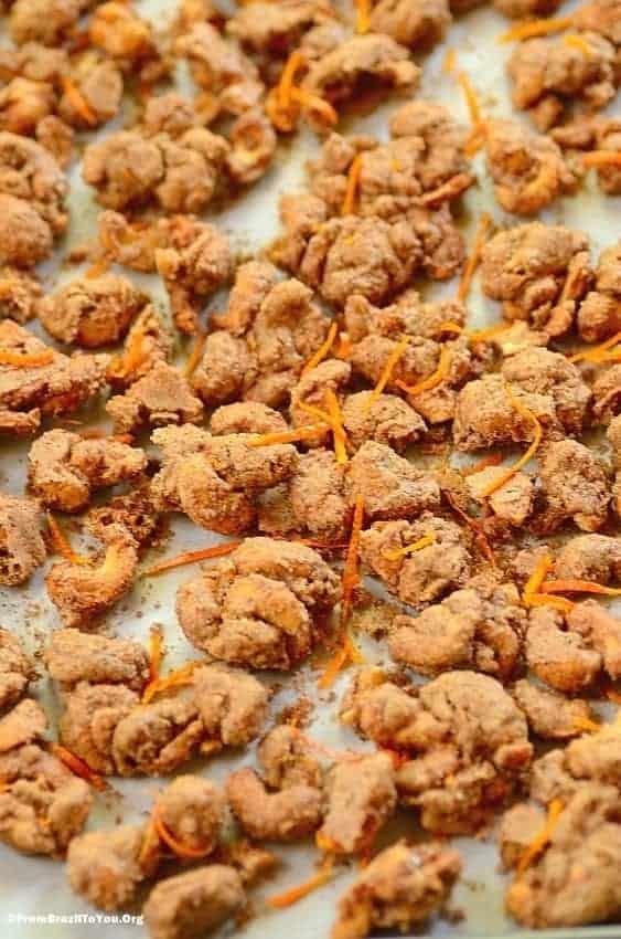 Glazed Cashew Nuts (Castanhas de Caju Glaceadas)