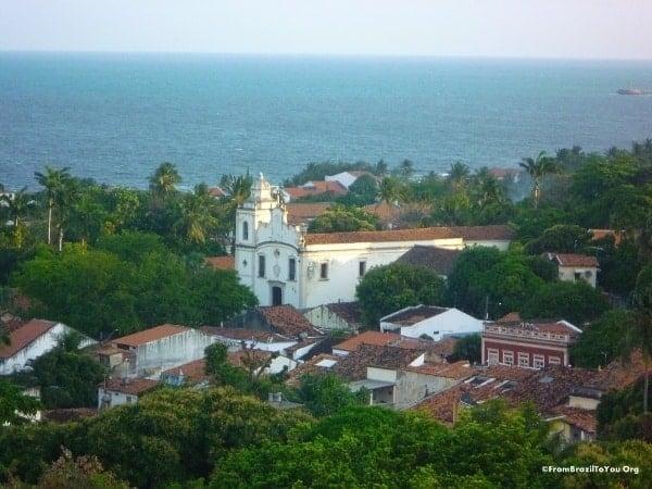 View of Olinda, Pernambuco, Brazil