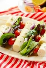 Heart of Palm Salad Skewers (Salada de Palmito no Espeto)