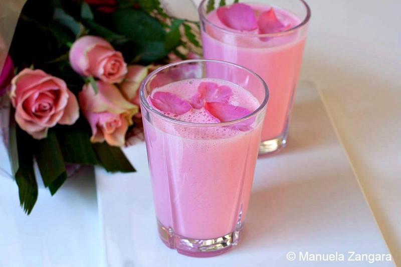 Rose Lassi by Manu's Menu