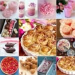 Many different types of desserts for Mother's Day
