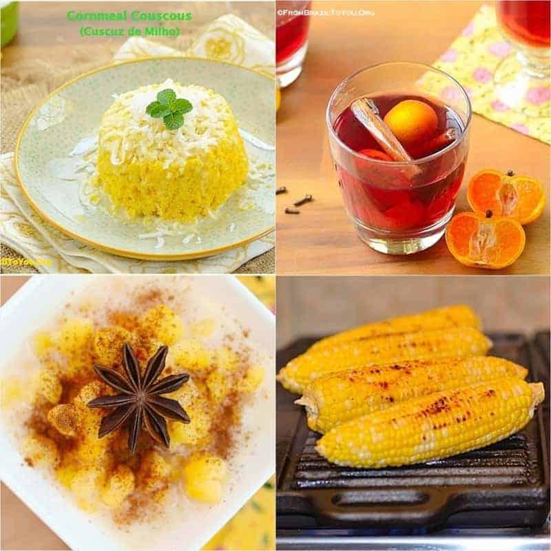 June Festivals' Dishes (Comidas das Festas Juninas)
